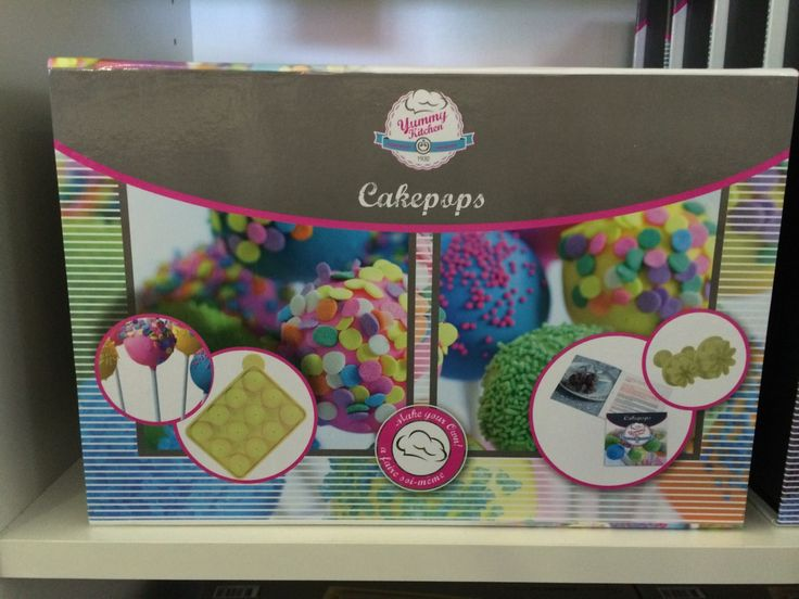 Create your own cake pops with this great kit.