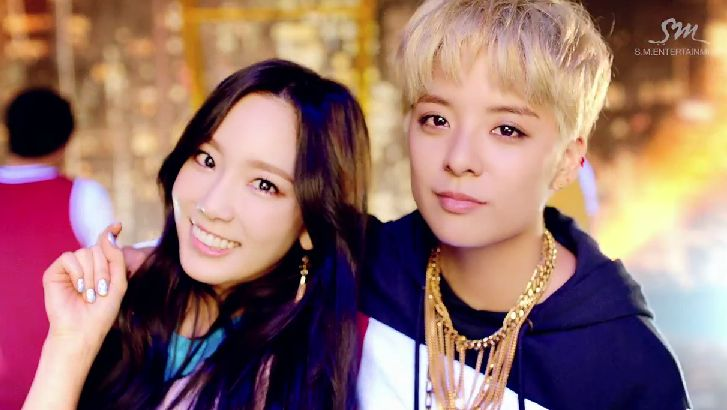 Amber and Taeyeon