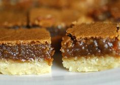 butter tart squares - easy diy desserts for your wedding or bridal shower