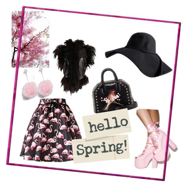 flamingo by m-elizarjeva on Polyvore featuring polyvore fashion style Alexander McQueen RED Valentino Y.R.U. STELLA McCARTNEY ASOS clothing