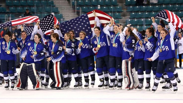The U.S. women's hockey team finally returned to the top of the Olympic podium with a dramatic, heart-stopping display of hockey against rival Canada. The USA won in a nail-biting shootout -- 20 years after they last won gold in 1998 when women's hockey made its debut as an Olympic sport. The U.S....