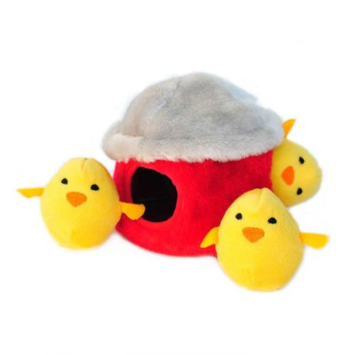 Chicken Hut Burrow Toy