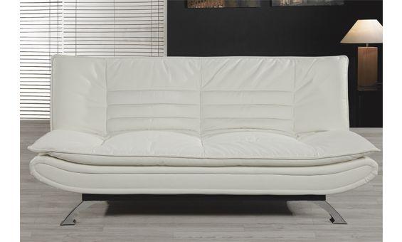 Sofa cama clic clac de elegante dise o en dos colores - Sofas elegantes diseno ...