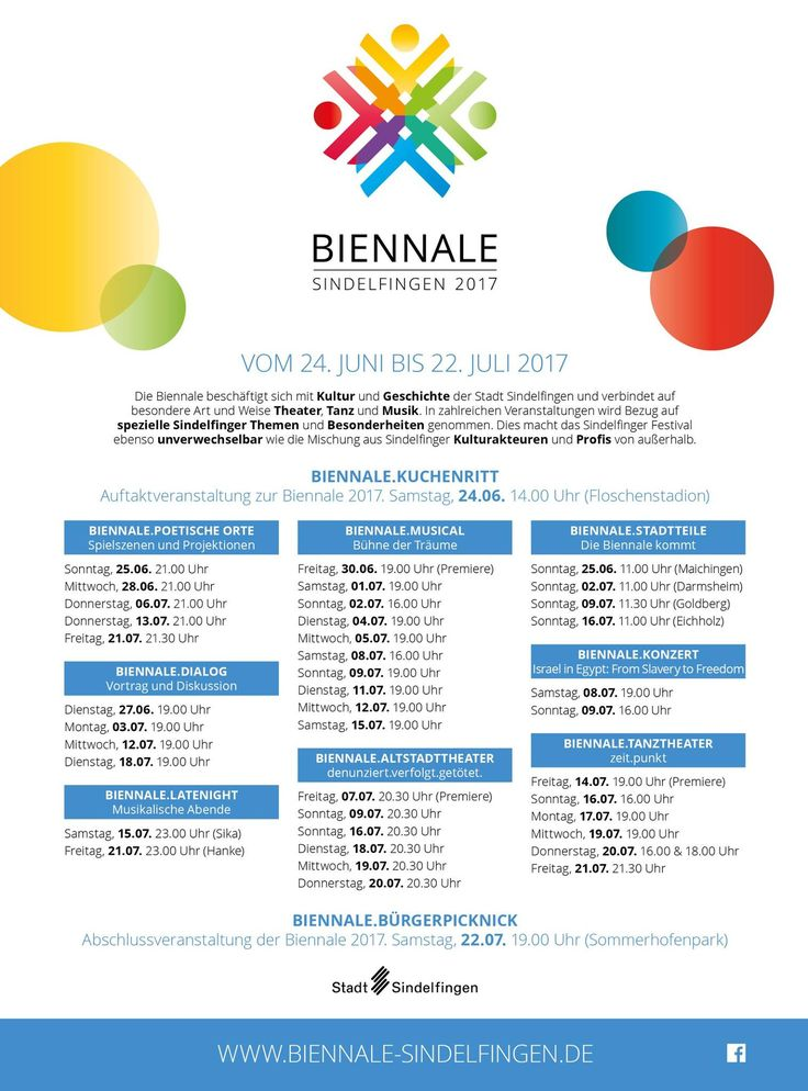 Biennale Sindelfingen 2017 Programm