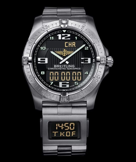Top 10 Watches To Help You Survive The Zombie Apocalypse: Breitling Aerospace