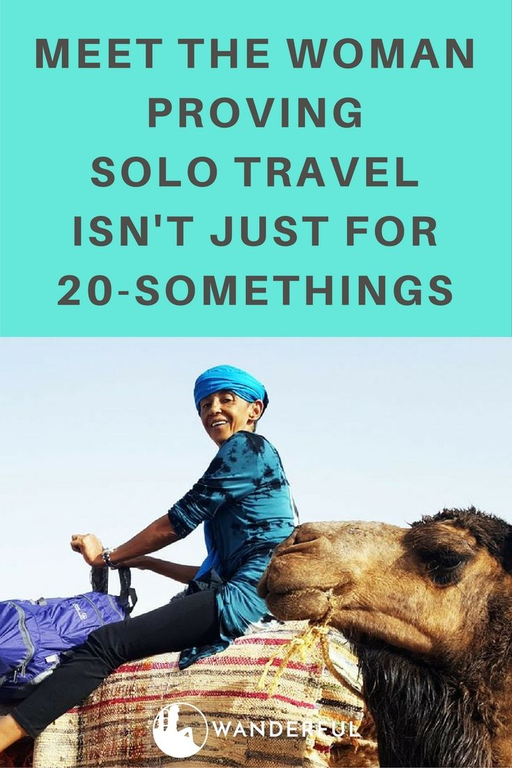 Meet the Woman Proving Solo Travel Isn't Just for 20-Somethings - http://www.sheswanderful.com/2016/09/08/meet-woman-proving-solo-travel-isnt-just-for-20-somethings/?utm_campaign=coschedule&utm_source=pinterest&utm_medium=Wanderful