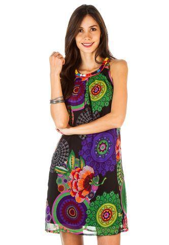 Vestido Desigual Multicolor Desigual