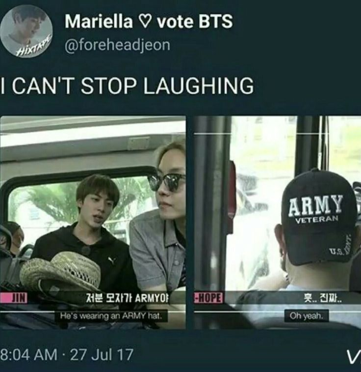 """""""Oh yeah"""" like were the only important army"""