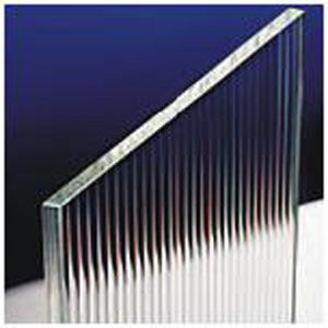 Reeded Glass - 4mm thick, 10mm reeds (existing doors are 12mm)