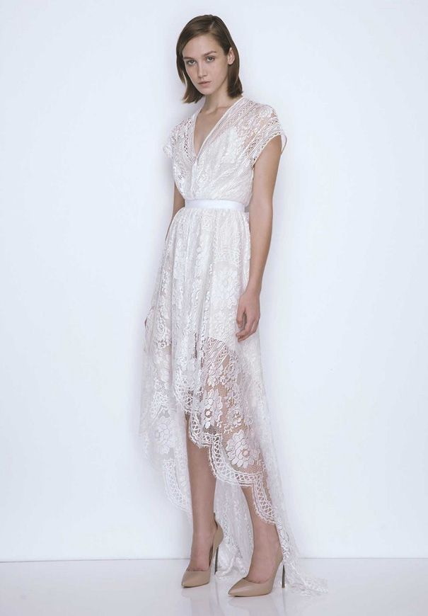 17 Best images about white lace dress on Pinterest | Brides, White ...