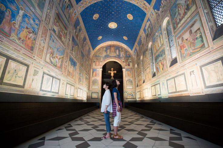 大塚国際美術館(ジョット「スクロヴェーニ礼拝堂壁画」)