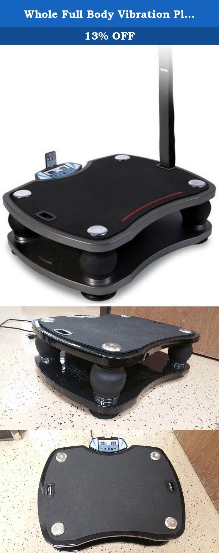 whole vibration plate exercise machine portable 500w