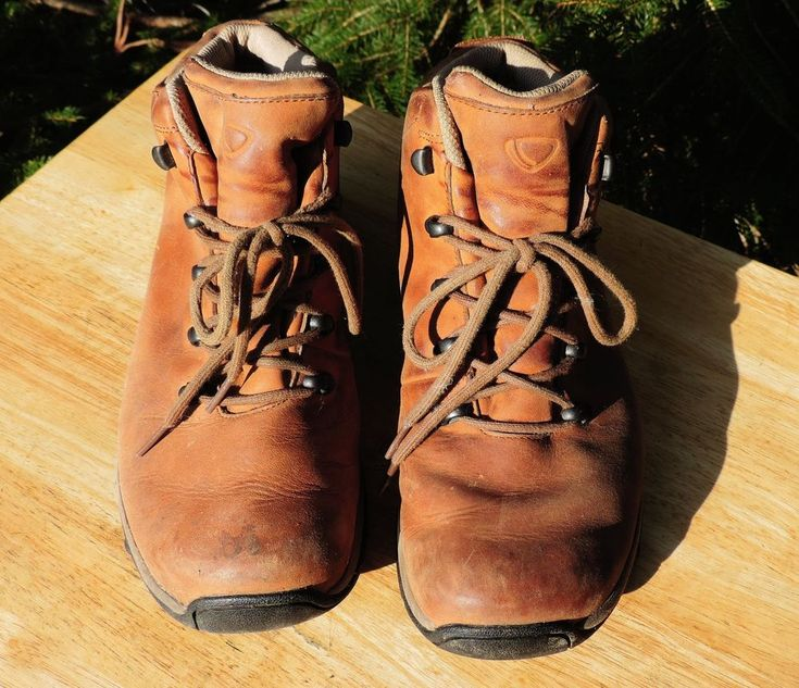 BRASHER WALKING BOOT GORE TEX BROWN LEATHER UK 5.5 USA 7 WATERPROOF COUNTRY VGC