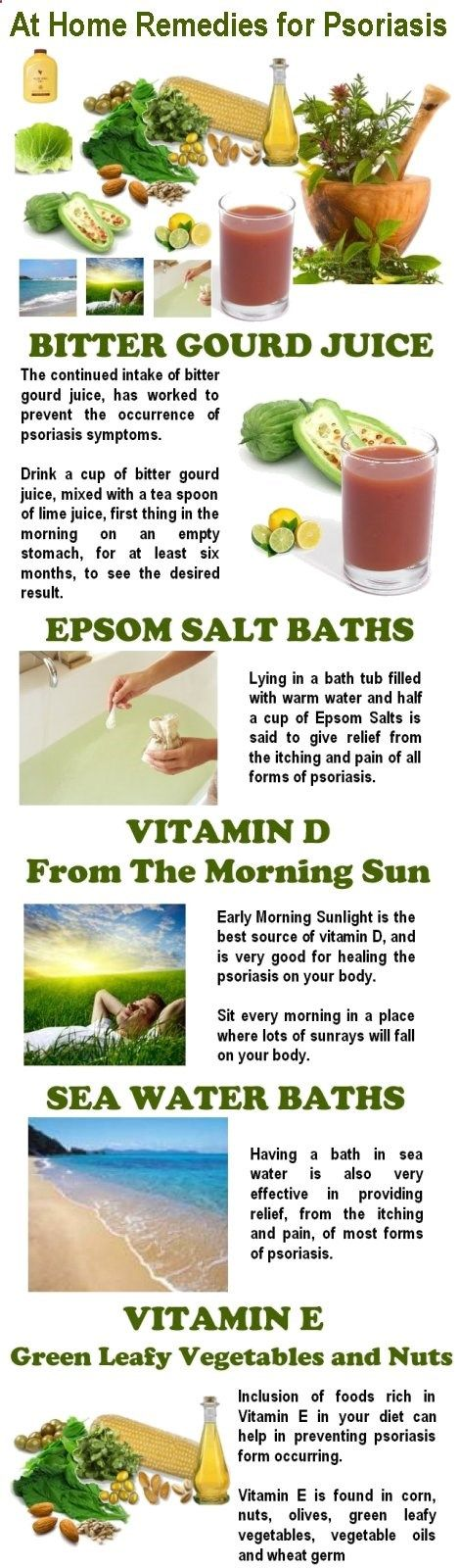 There may be no cure for Psoriasis, but that doesnt mean we cant prevent it from spreading and effecting our lives. At Home Remedies for Psoriasis - Recognized at home remedies for psoriasis can be said to be the only true natural treatment for psoriasis not all natural and medical remedies work for everyone so try what works best for you ^_^