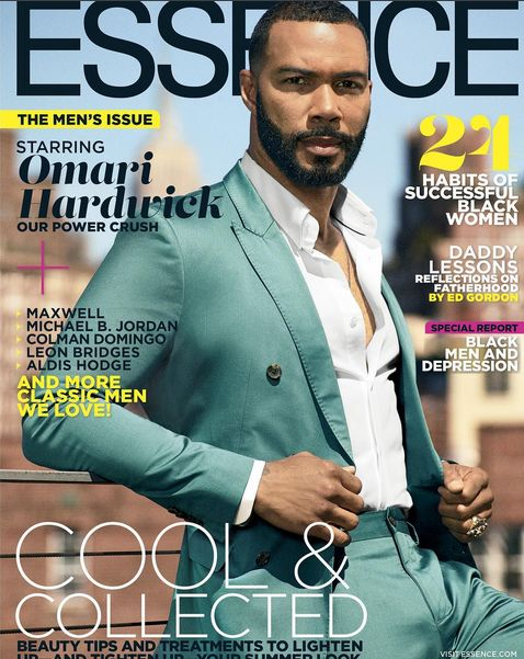 Omari HardwickUp The Summer With ESSENCE Magazine Covers