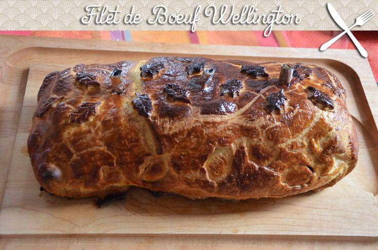 filet de boeuf wellington, un plat très original : c'est un rôti entouré de pâté de foie et enrobé dans une pâte feuilletée. La viande est très savoureuse.