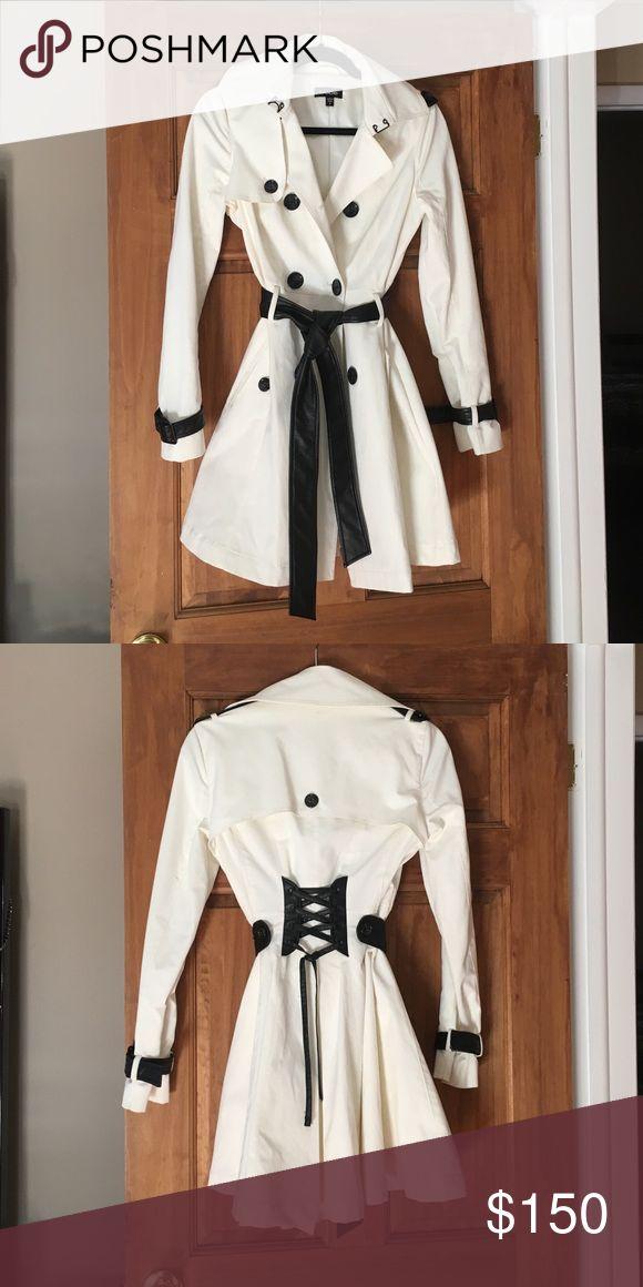 BeBe women's rain coat Stylish trench coat bebe Jackets & Coats Trench Coats