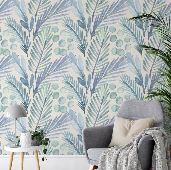 Designer Wallpaper Removable And Self Adhesive Peel And Etsy Peel And Stick Wallpaper Designer Wallpaper Smooth Walls