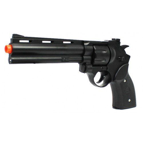 Electric Full Scale Full Auto Magnum Revolver FPS-150 Pistol Hand Gun Airsoft Gun by revolver airsoft gun. $36.00. Requires 3 AAA Batteries. This is an electric airsoft pistol revolver.