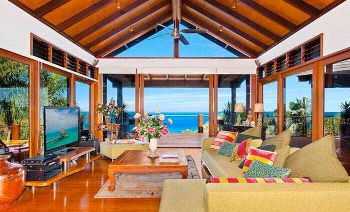 Dream house lounge room - that view