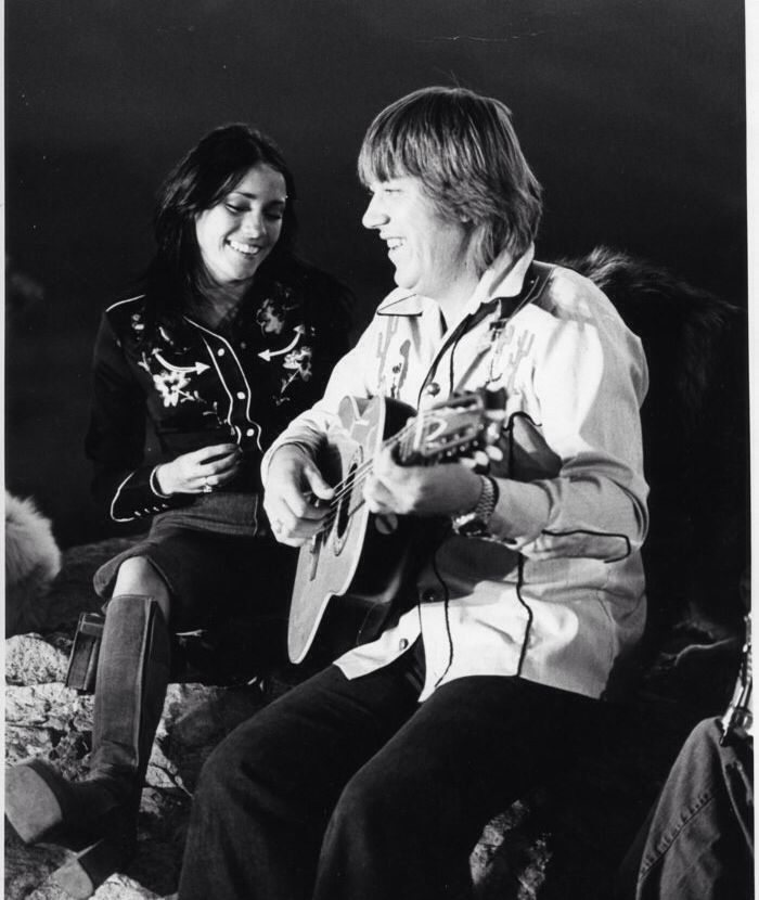 Terry Kath with his wife, Camelia