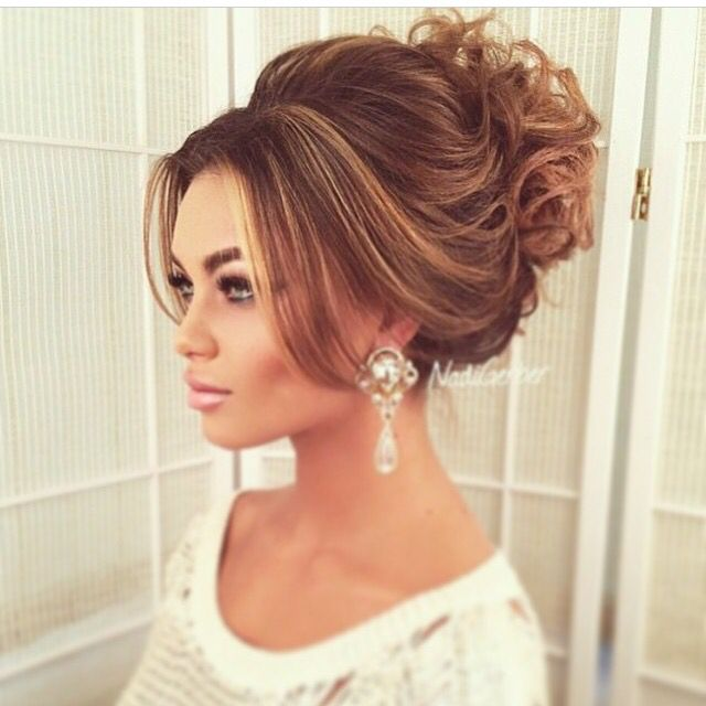 Best 25 high updo ideas on pinterest high updo wedding bridal high messy pmusecretfo Image collections