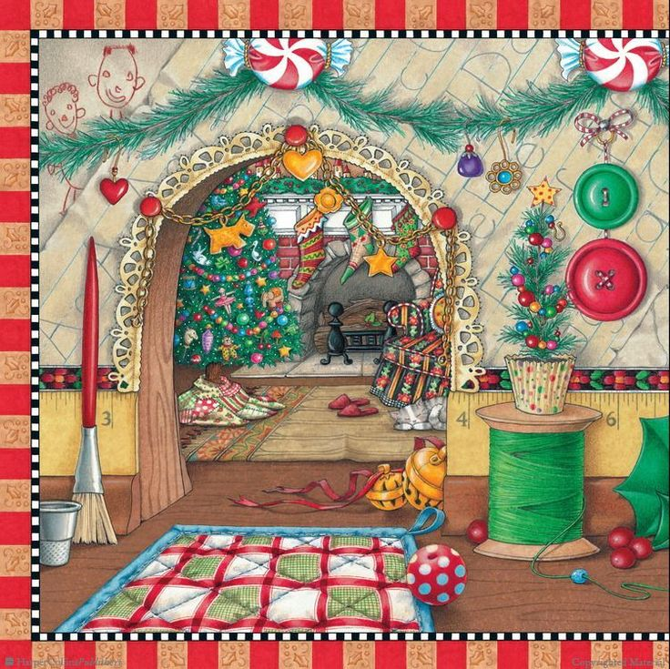 Browse Inside The Night Before Christmas by Clement C. Moore, Illustrated by Mary Engelbreit