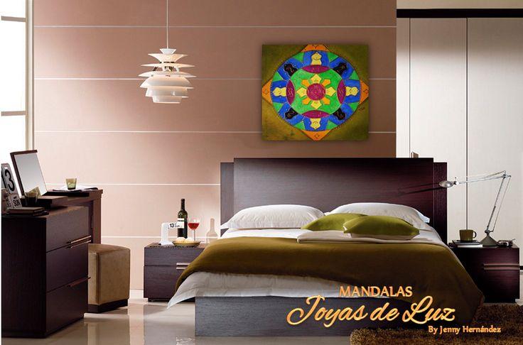 Mandala para habitación de hombre