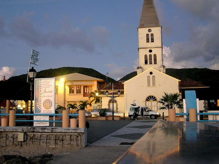 Martinique  L' église Saint-Henri des Anses-d' Arlet