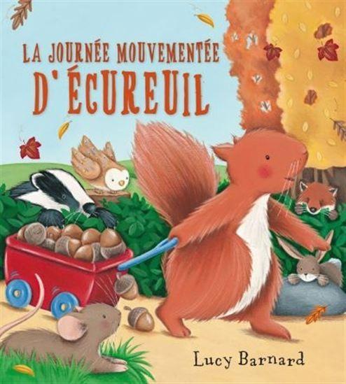 Écureuil est si occupé à ramasser des glands qu'il n'a pas le temps de jouer avec ses amis. Mais lorsque les choses vont mal, peut-il compter sur ses copains pour lui venir en aide ?