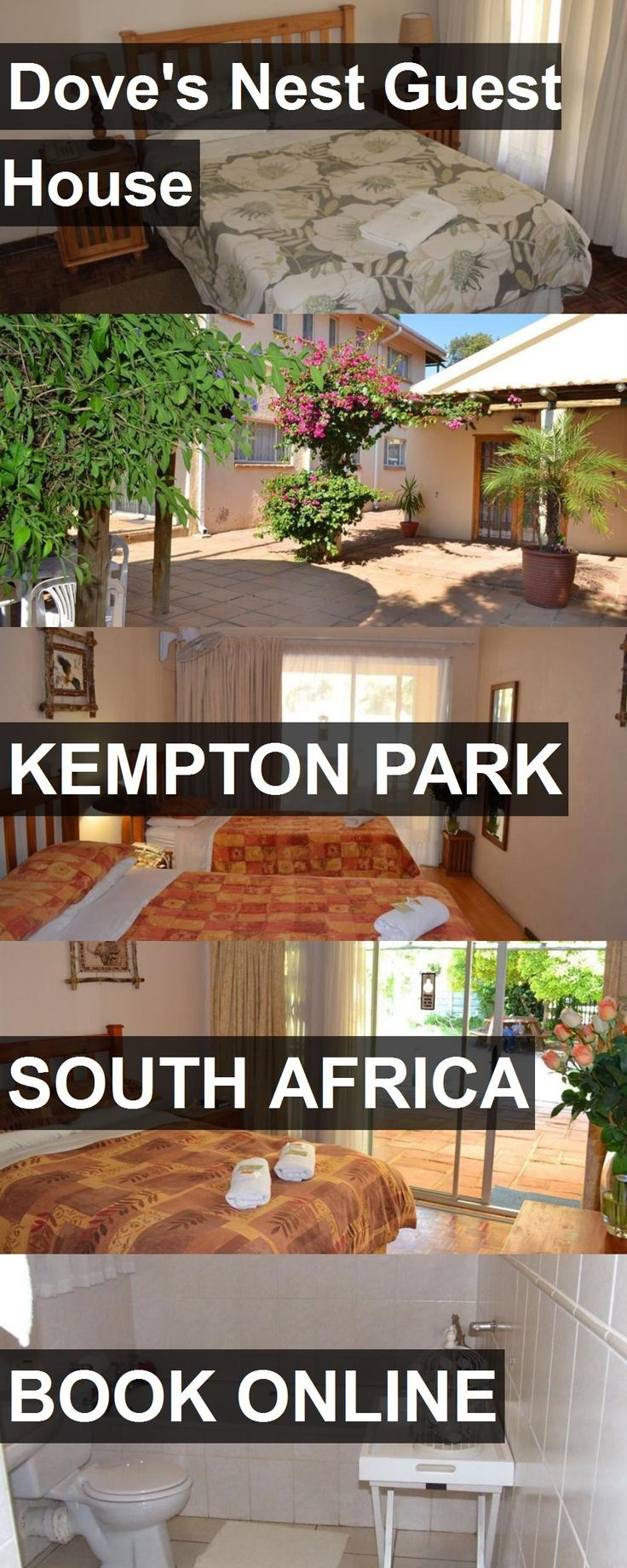 Hotel Dove's Nest Guest House in Kempton Park, South Africa. For more information, photos, reviews and best prices please follow the link. #SouthAfrica #KemptonPark #Dove'sNestGuestHouse #hotel #travel #vacation