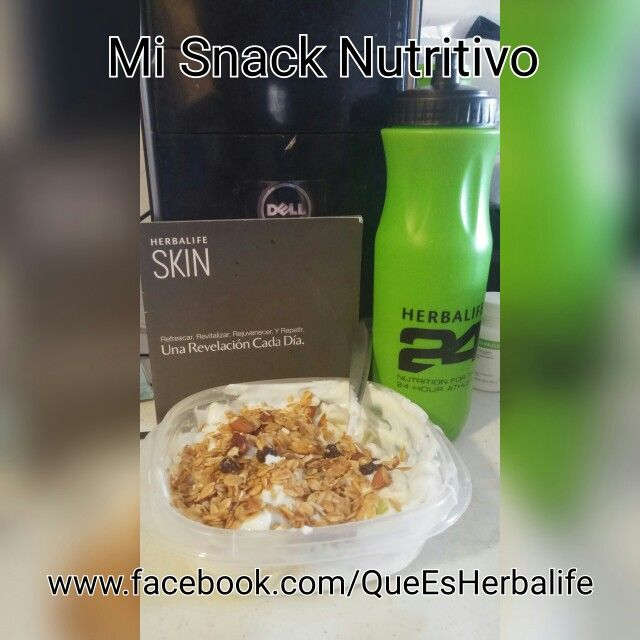 Mi #Snack #Nutritivo Para estar #Sano y mantenerme mas #Joven y sin #Obesidad y lo mejor que que sabe delicioso, mas tarde hacer #Deporte y a #Correr y la Próxima semana Plan para #Crossfit #Reynosa #Tamaulipas #Preparate por que vamos por mas #Familias con mejor #Calidad de #vida. Trae Proteina de Vanilla Gold 2 porciones. La proxima sera Herbalife24™ Rebuild Strength en esta ocasión trae Yogurt Griego, 1 manzana grande 1 platano, granola. Luego mas recetas.