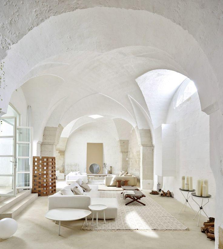 17 migliori idee su soggiorno open space su pinterest - Open space casa ...