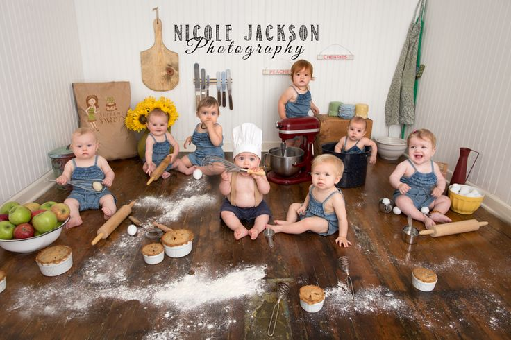 All the Baking Babies together for so much fun! www.nicolejacksonphotography.com www.facebook.com/nicolejacksonphotography