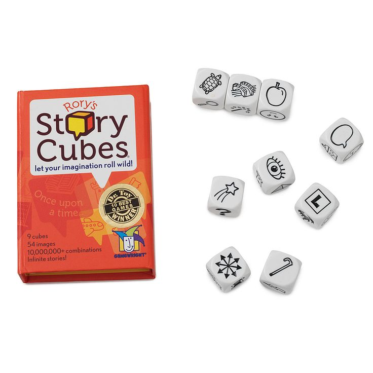 Ideal for recreation, teaching or work, Story Cubes are an endless resource for inspiration and fun.