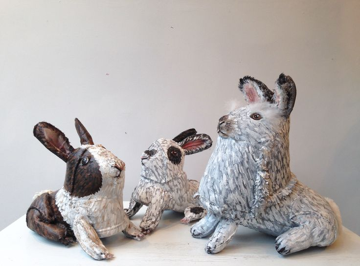 Animals made from shoes!! Kim Danio transforms Uggs into Rabbits :o