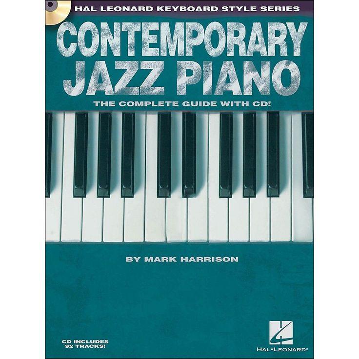Hal Leonard Contemporary Jazz Piano (Book/CD) - Hal Leonard Keyboard S