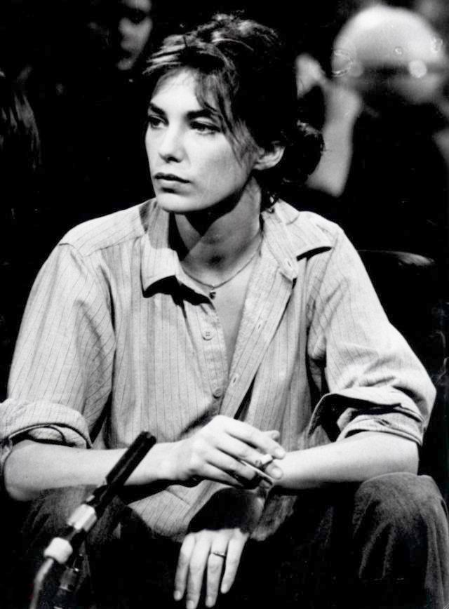 Jane Birkin. She knows how to turn a talk show set into her living room.