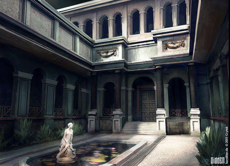 Ryse: Son of Rome - Palace, Floris Didden on ArtStation at https://www.artstation.com/artwork/rRgy6