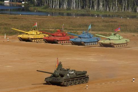 """A Mosca le """"olimpiadi dei carri armati"""" - Il Sole 24 ORE"""