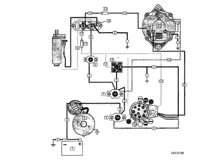 volvo penta alternator wiring diagram | yate | pinterest ... vintage boat wiring diagram vintage moped wiring diagram