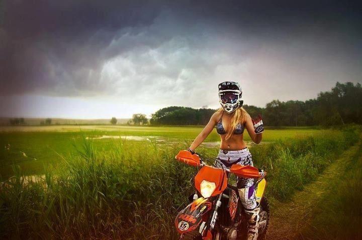 What I look like whilst dirt biking lol