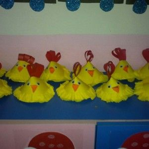 cone shaped hen craft (1)