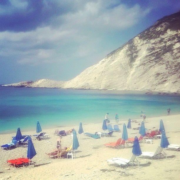 Petani beach, #Kefalonia #petanibeach #greekbeaches