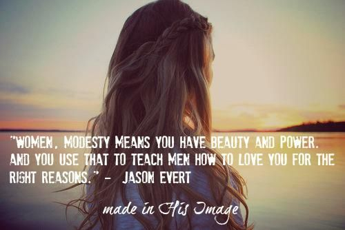 Modesty: A Lost Virtue | TrainingSaints.com