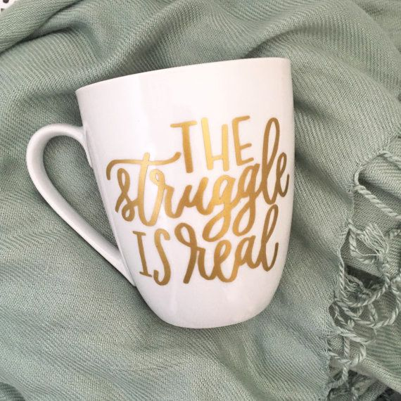 This cup that sees the world before coffee. | 26 Honest AF Mugs For People Who Need Coffee To Function