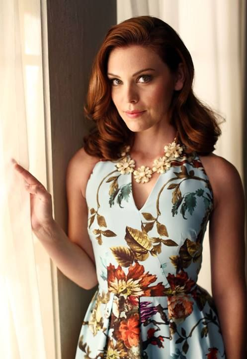 Hart of Dixie - Anabeth. She is one of my very favourites; I even like her name. I love her outfits, hair and makeup on the show. I especially adore the green outfits she wears - so pretty!