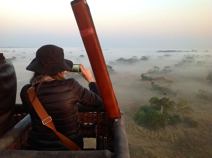 Good morning from Shumba and Busanga Bush camps! Our first hot-air balloon flight of the Busanga Plains season took off last week. Guests flew over puku, lechwe, hippo, elephant and even some lion – then to top off a superb morning's game viewing, a family of elephant walked past while the Champagne breakfast was being served!