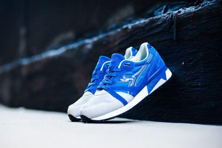 Cool tenisky! DIADORA N9000 NYL blue