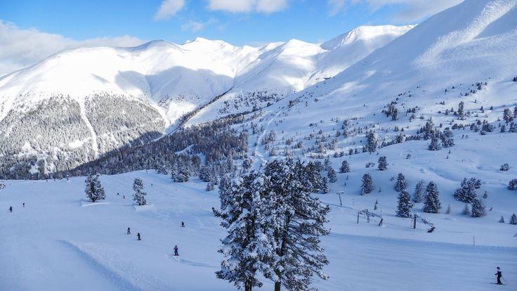 Winterlandschaft in Nauders 2018